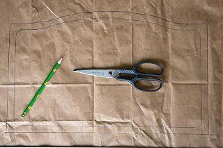 Tripp Trapp cushion DIY pattern tutorial
