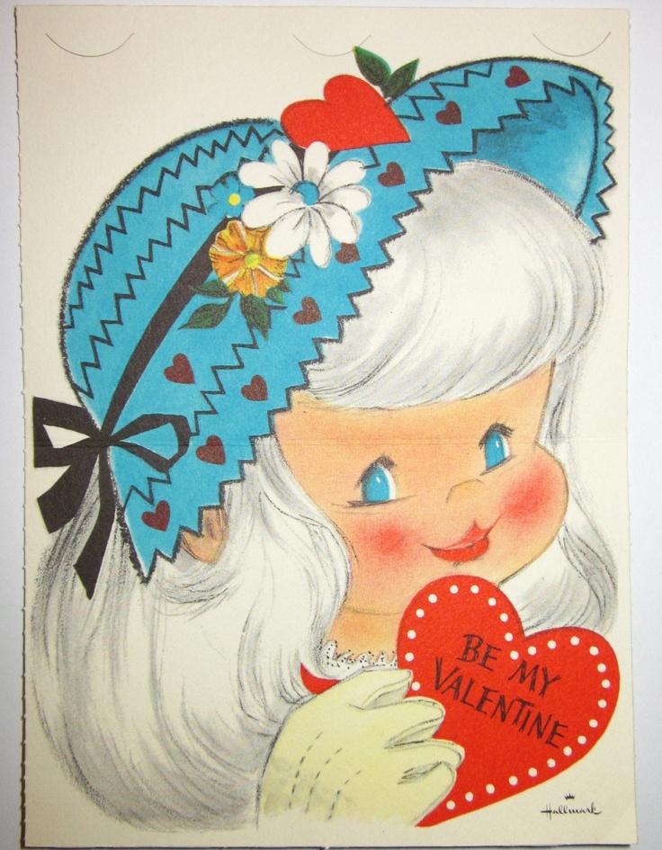 333 best images about VintageHallmark Cards – Hallmark Valentine Card