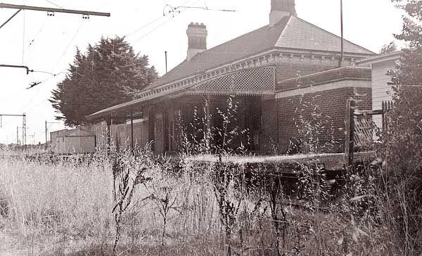 Kew station c1958