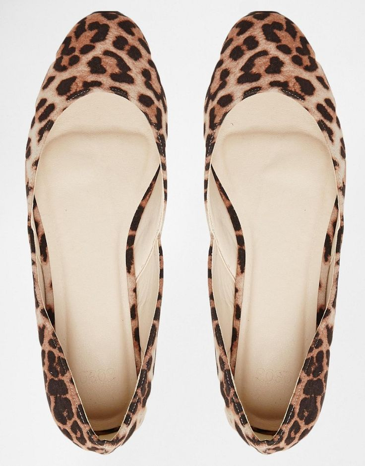 Image 3 of ASOS LEONIE Square Ballet Flats