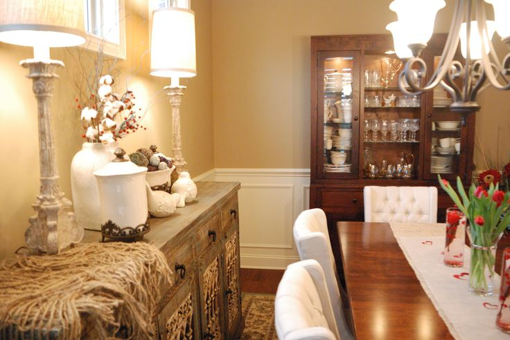 132 best home tours images on pinterest for Dining room tables knoxville tn