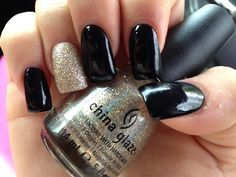 Love black and sparkle!!!!