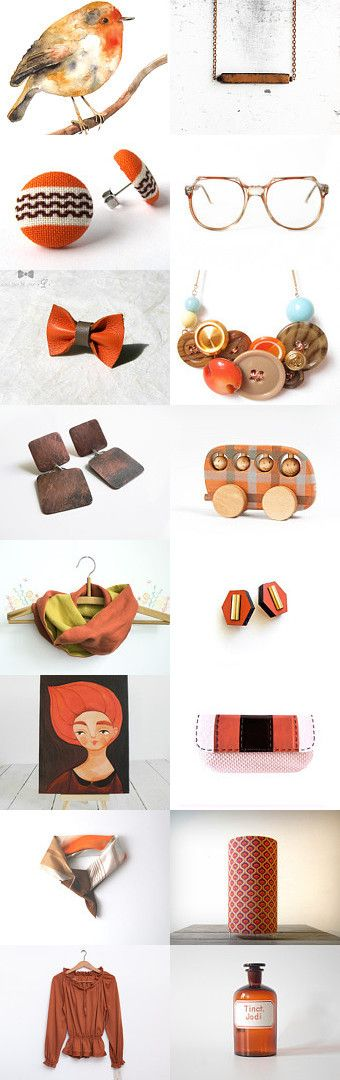 Seventies Mood by Alexa Brains on Etsy--Pinned with TreasuryPin.com