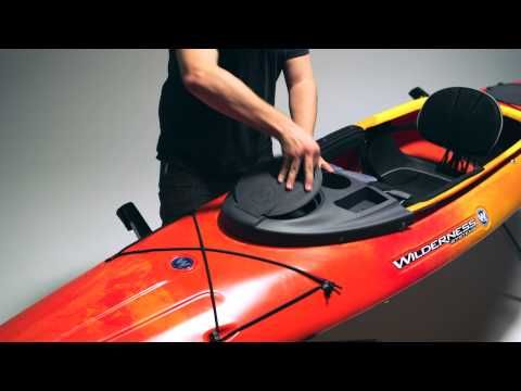 Wilderness Systems Kayak Konsole with Dry Hatch - austinkayak.com - Product Details