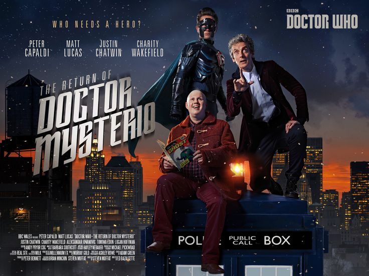 Just for fun, my Radio Times shoot image for the Doctor Who Christmas special redone with poster credits. Christmas Day, 5.45pm on BBC One.