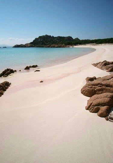 Budelli-Spiaggia Rosa. Sardinia/Cerdeña/Sardegna