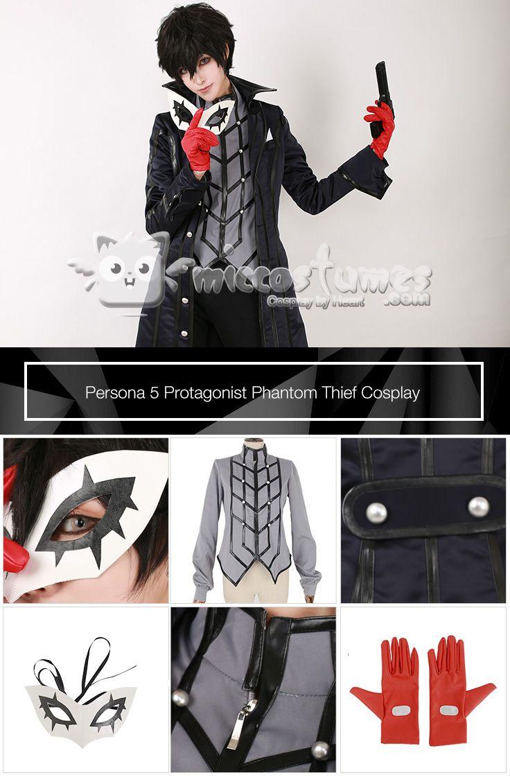 Persona 5 Protagonist Phantom Thief Cosplay Costume sells at Miccostumes  #persona5 #protagonist #phantomthief #cosplay #costume #miccostumes