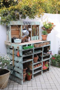 Un rêve de jardinier tout en palettes chez LIVING 4 MEDIA Toutes mes dernières découvertes-(clic) Pour ne rien rater, pensez à vous abonner