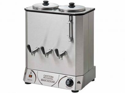 Cafeteira Elétrica Profissional 4 Litros - Marchesoni com as melhores condições você encontra no Magazine Vianna3. Confira!