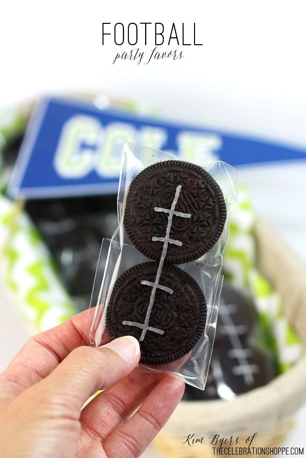 Fun Food: Easy Football Party Favors   Kim Byers, TheCelebrationShoppe.com