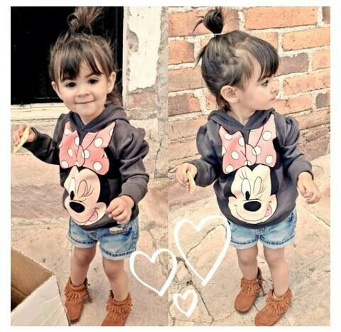 MICKEY.MOUSE SWEATER / LITTLE GIRL / GIRLS CLOTHING / OUT FIT / KID / TODDLER