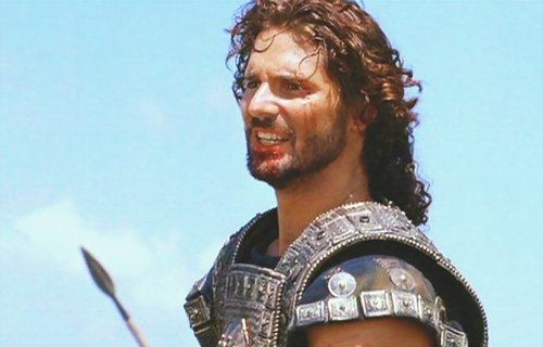 Hector of Troy (here played by Eric Bana). Always considered below Achillies but his altruism, bravery and courage in the face of the impossible is as powerful as it is tragic.