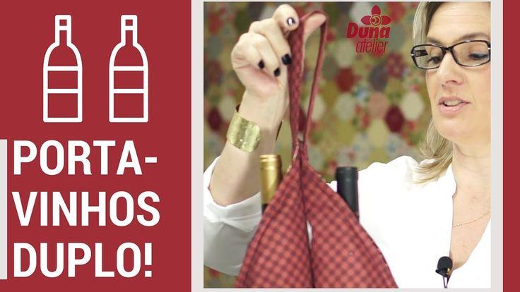 O Porta-vinhos Duplo Em 30 Minutos - Patchwork Fácil com a Patricia Muller