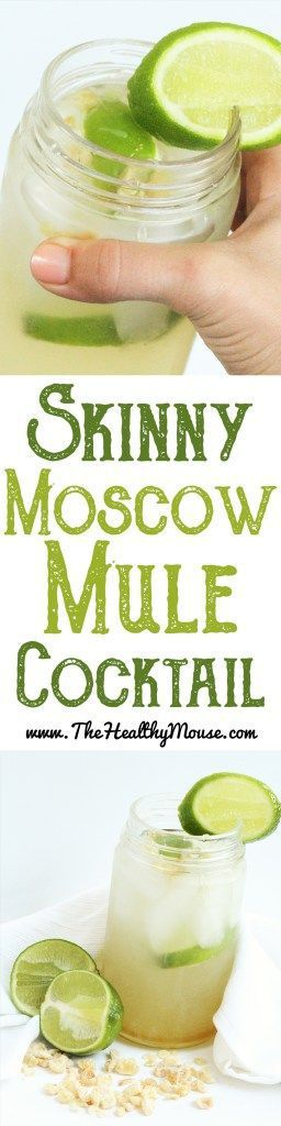 I love a refreshing Moscow Mule, but even better when it's a skinny Moscow Mule!