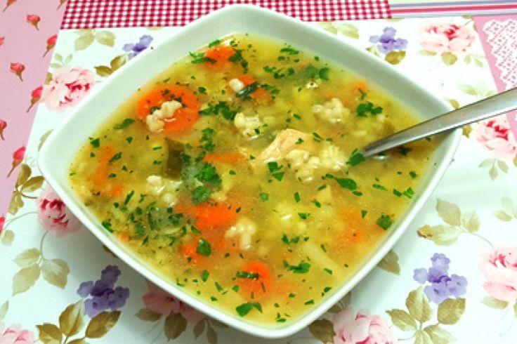 Zupa Pęczakowa Moniki Honory
