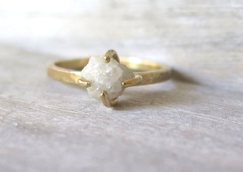 These beautiful unconventional engagement rings are designed with the daring bride-to-be in mind. Express your unique style with one of these avant garde rings.