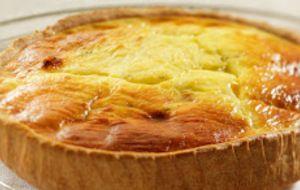 Hartige taart met Boursin Knoflook en fijne kruiden