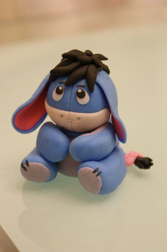 eeyore clay figure