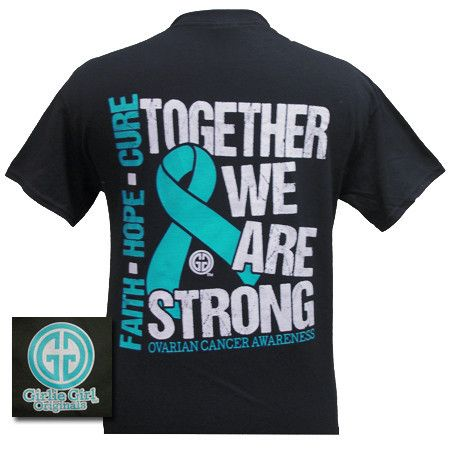 Details together we are strong ovarian cancer awareness for Breast cancer shirts ideas