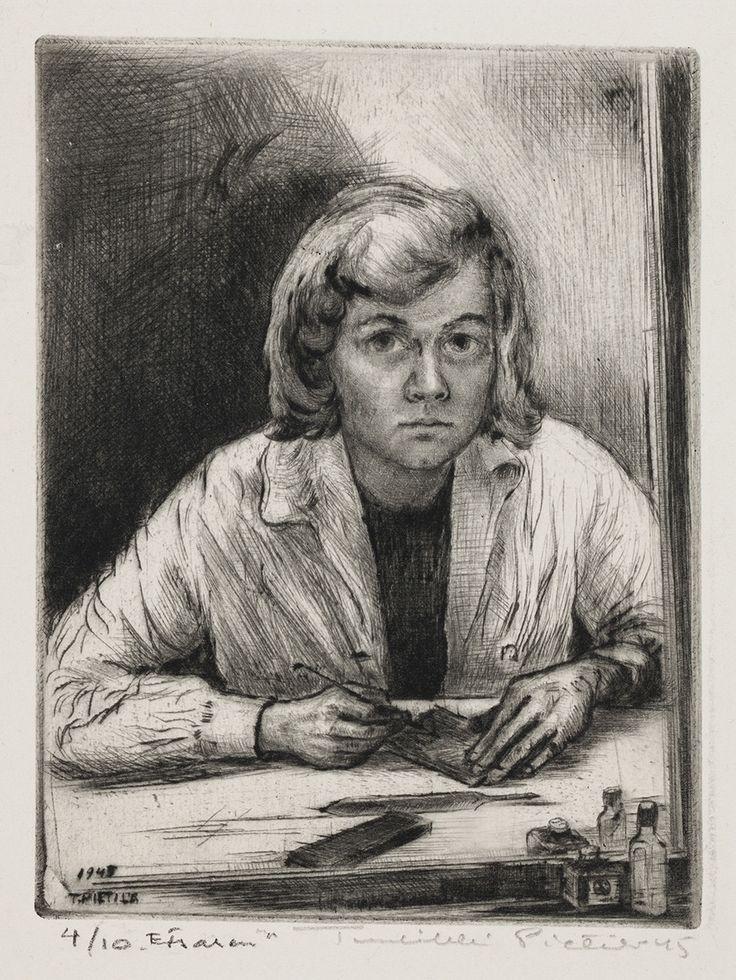 Tuulikki Pietilä: Etsaaja, 1945. Kansallisgalleria / Ateneumin taidemuseo. Kuva: Kansallisgalleria / Ainur Nasretdin