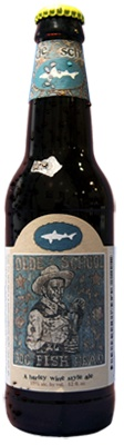Dogfish Head's Olde School Barleywine - careful...this will knock you on your butt!