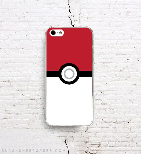 Pokemon X Y POKEBALL iPhone 4 4s 5 5s 5c iPod by blacksheepcase, $15.00