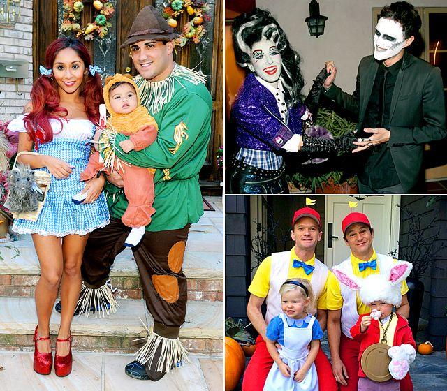 Celebs in Matching Halloween Costumes Neil Patrick Harris et al wins hands down!