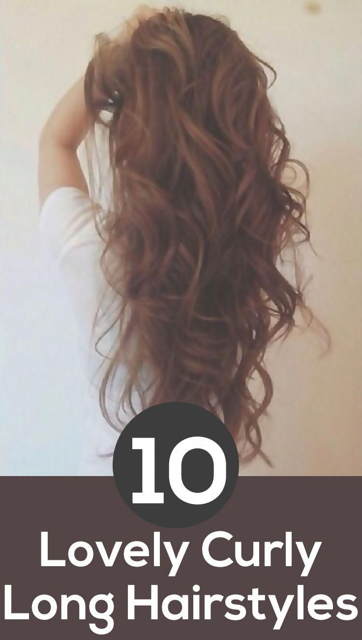 Top 10 Lovely Curly Long Hairstyles Longhairstyles Hairstyles