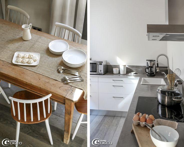 meubles de cuisine et plan de travail