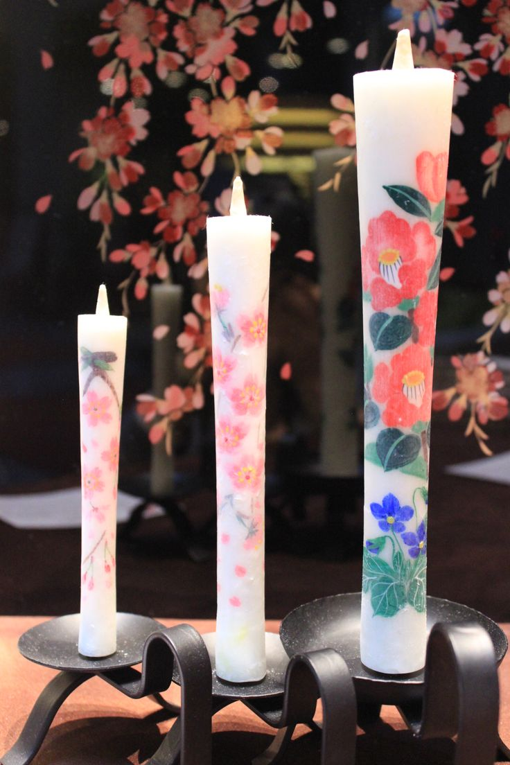 絵ろうそく(福島)2015.04.01-2015.05.31