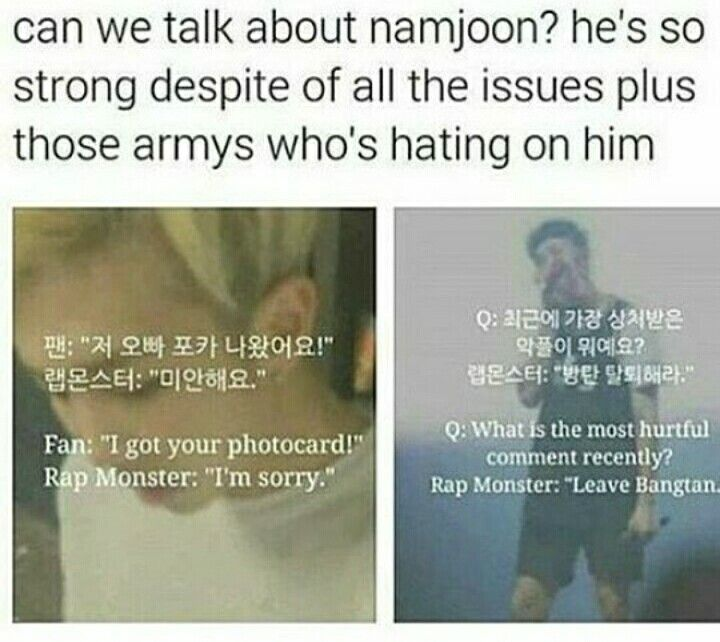 He's handsome, cute, beautiful, smart and a perfect leader we could ask for♡… please never leave bangtan