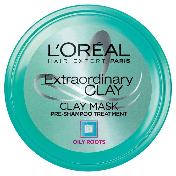 L'Oreal Hair Expert/Paris Extraordinary Clay Mask Pre Shampoo Treatment - 8.5 oz