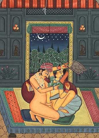 46. Old Kamasutra Painting