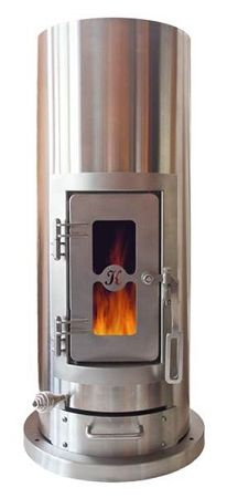 The Kimberly Stove™ Small Wood Stoves for RVs, Boats, and Tiny houses! EPA Certified.