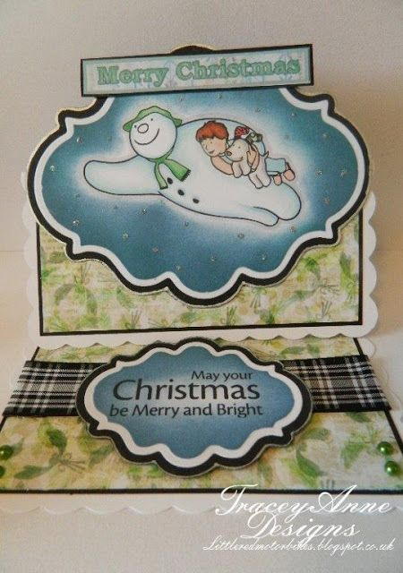 Tracey Anne Designs: The Snowman & The Snowdog/ Father Christmas from #crafterscompanion
