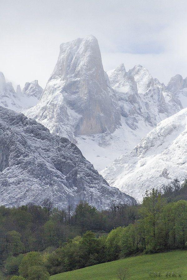 Naranjo de Bulnes by Mónica Rey ~  Picos de Europa National Park, Asturias, Spain*