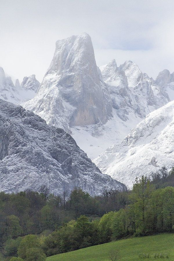 Naranjo de Bulnes, Picos de Europa, Asturias. Spain  by Mónica Rey, Portal to Where?