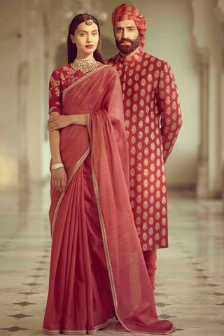 adcdf18b58 Floral Anarkali Floor Length – Panache Haute Couture. Floral Anarkali Floor  Length – Panache Haute Couture Pink Saree ...