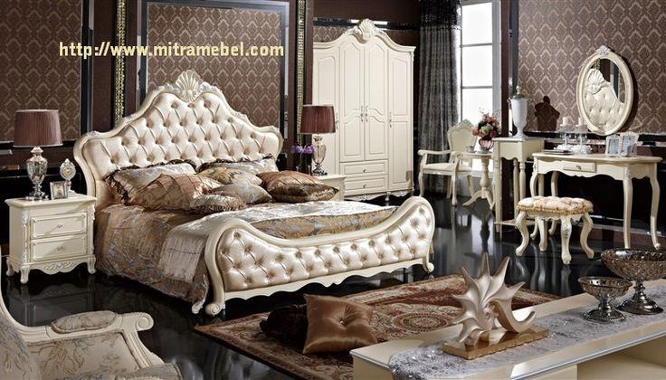 Set Kamar Tidur Klasik Cat Duco