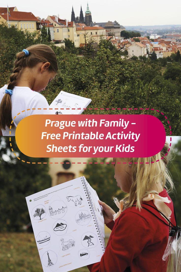Free Printables Prague I Prague with Family I Prague with Kids I Activity Sheets