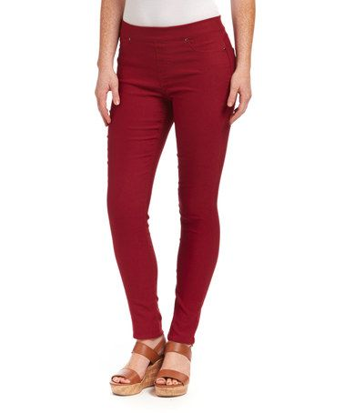 Another great find on #zulily! Wine Pants by Unique Off Price #zulilyfinds