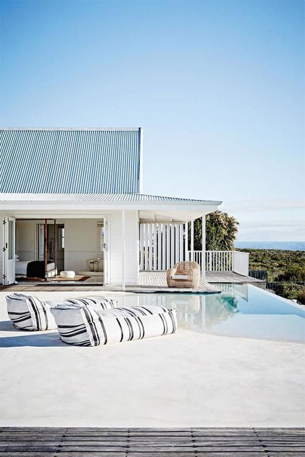 Beach house living | Image via Interiors from Spain