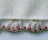 Beaded crochet edging: Crochet Edging, Edging Free Pattern, Crochet Patterns, Amazon