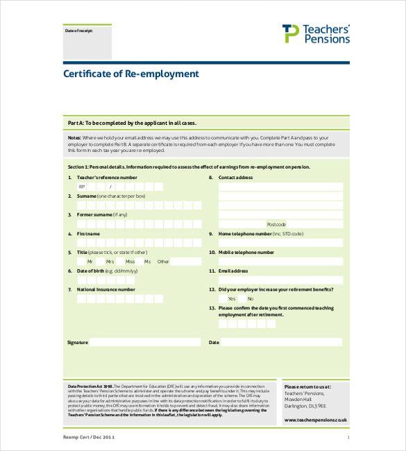 certificate employment template job templates certificatetemplatess certificates pdf re sample