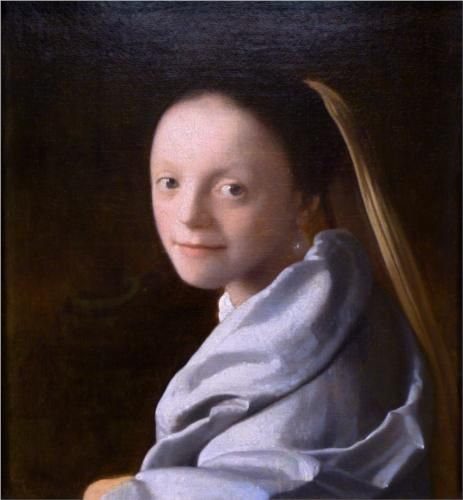 Study of a young woman - Johannes Vermeer