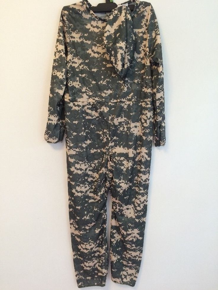 Brand New Halloween Costume Camouflage Jumper | eBay