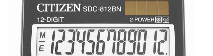 Citizen Truly Sharp számológép és zsebszámológép
