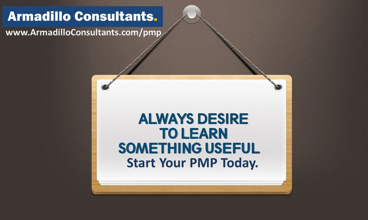 Start Your PMP Today.  Get your Study plan and Road map from the SME directly by registering to PMP training by Armadillo Consultants  Call Mr. Hari to Enroll at +91 9538299652.  View course details & Enroll here. http://armadilloconsultants.com/pmp.