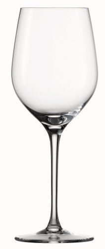Spiegelau Vino Vino Large White Wine Glass, Set of 4 by Spiegelau. $45.05. Generous size bowls and enhance aromatics and provide a stunning visual presence. 12 -ounce capacity. Lead-free crystal produced in Germany. Unique platinum finishing process increases durability and adds a brilliant shine. Thin, laser-cut and polished rims maximize drinking pleasure. These Spiegelau Vino Vino White Wine glasses feature bowls that are modeled after Spiegelau's most popular Vino G...