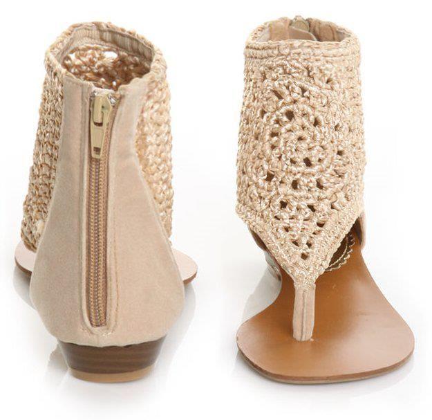 22 best zapatos de tacón alto de tejido images on Pinterest ...
